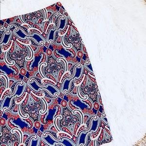 ANN TAYLOR • NWT Paisley Print Pencil Skirt • Sz 4
